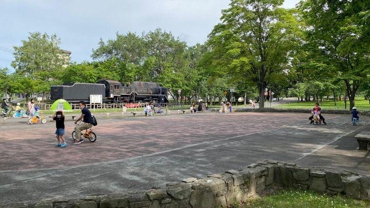試公園自転車練習場