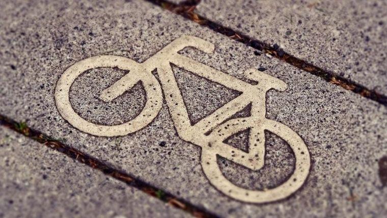 交通公園 自転車マーク