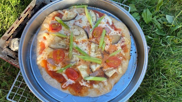 あまり野菜ピザ