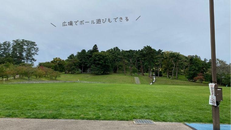 円山公園 広場