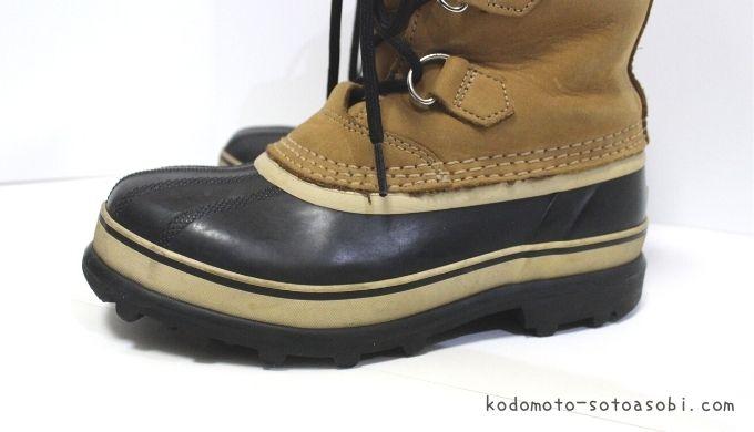 靴底の厚さ